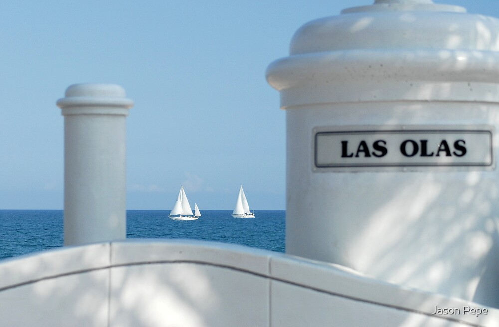 Sailing Las Olas by ggpalms