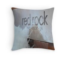 Red Rock Hotel And Casino Throw Pillow