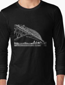 Sydney Harbour Bridge Long Sleeve T-Shirt