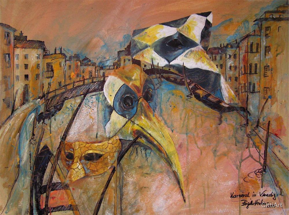CARNIVAL IN VENICE by GittiArt