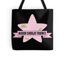 Mahou shoujo trainee + band aid print  Tote Bag