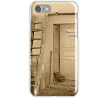 The old stuff sign iPhone Case/Skin