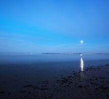 moonlite beach by kathy s gillentine