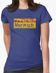 Radio Norwich Womens Fitted T-Shirt