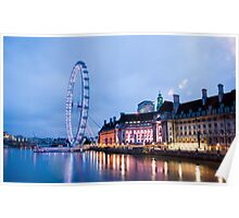 In The Twinkling of an Eye: London Eye Poster