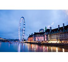 In The Twinkling of an Eye: London Eye Photographic Print