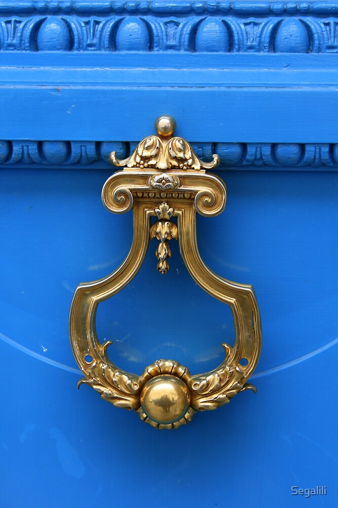 Blue Door by Segalili