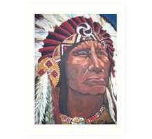 Indian Chief Art Print