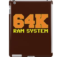Commodore 64k RAM System iPad Case/Skin