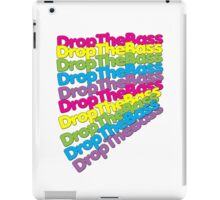 Drop The Bass (Rainbow Color)  iPad Case/Skin