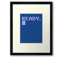 Commdore C64 Ready Framed Print
