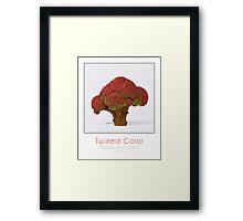 Autumn broccoli Framed Print