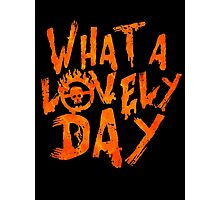 What a Lovely Day - Max Photographic Print