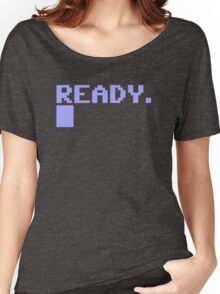 Commdore C64 Ready Women's Relaxed Fit T-Shirt