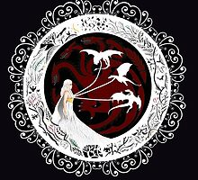 mother of dragons by eymenier valeriane
