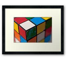 Rubik Framed Print