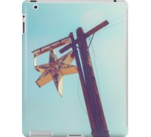 Abandoned Star Sign on the Route 66 iPad Case/Skin