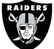 Oakland Raiders  by happyjele