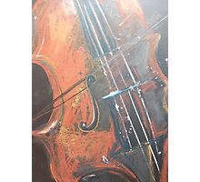 fiddle Photographic Print