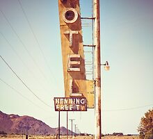 Motel Sign on the Route 66 by giof