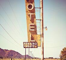 Motel Sign on the Route 66 by Giorgio Fochesato