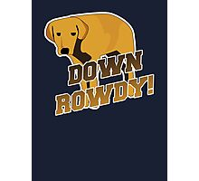 Down Rowdy the Dog Photographic Print
