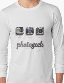 Photogeek Long Sleeve T-Shirt