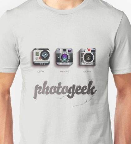 Photogeek Unisex T-Shirt