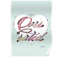 Love is Overrated Poster