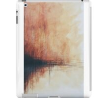 Rusted Lines Pen And Ink  iPad Case/Skin