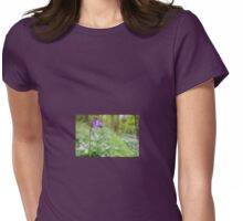 Bluebell Walk Womens Fitted T-Shirt