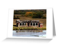 Ruin With A View Greeting Card