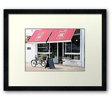 deli at 35 Framed Print