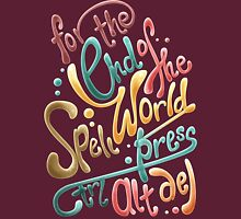 For the end of the world spell, press CTRL ALT DEL T-Shirt