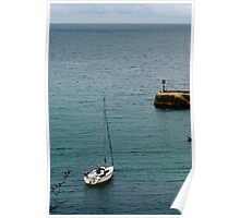 Port Isaac Harbour Poster