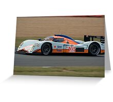 Aston Martin Lola Greeting Card