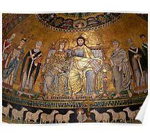 Mosaic of Santa Maria de Trastévere Poster