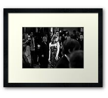 Pretty, Free Framed Print