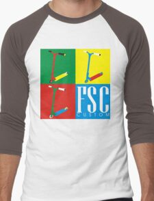 FSC Custom Scooters  Men's Baseball ¾ T-Shirt