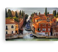 Ponte della Croce Canvas Print