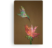 Hummingbird (also available as an iPhone case) Canvas Print