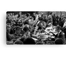 Mobbed Canvas Print