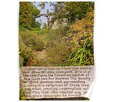 The New Forest: Finding Peace in the Garden Poster