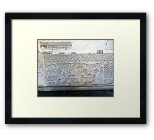 Early Christian Symbolism Framed Print