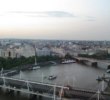 An Arial Shot Of The Thames by Rosie Connor