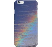 coloured drops iPhone Case/Skin