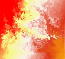 Abstract Fire Storm 5 by gdubbb