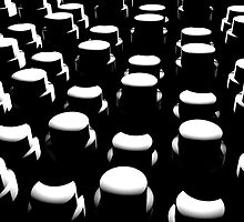My Field of Cylinders by Chris Bigelow