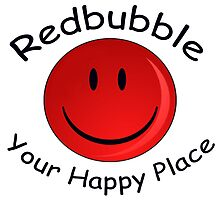 Redbubble Your Happy Place by Paul Gitto