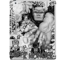 Rubbernorc Beer Monster Comic Collage iPad Case/Skin